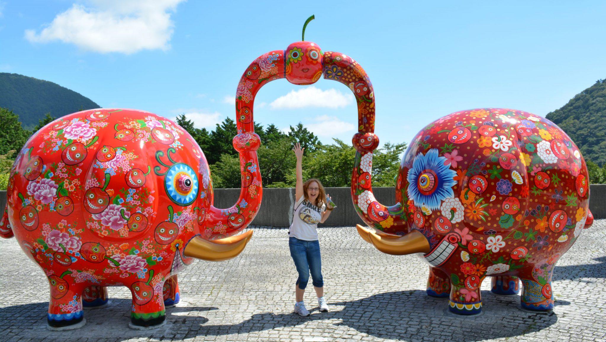 Unos elefantes muy graciosos