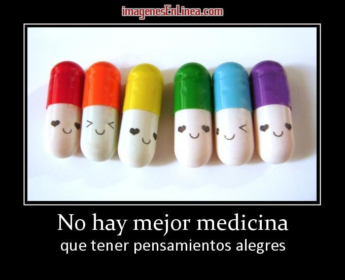 La mejor medicina la alegria