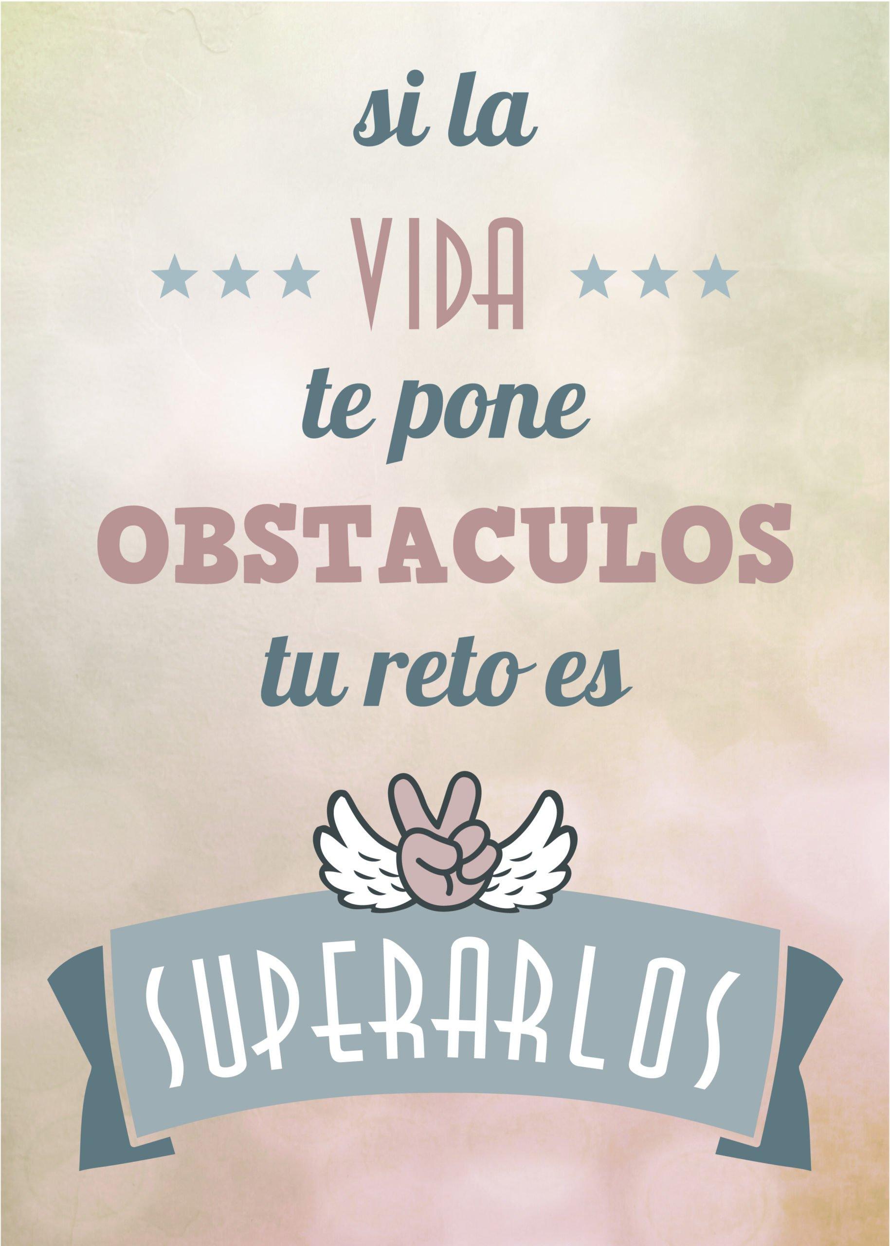 Superar obstáculos