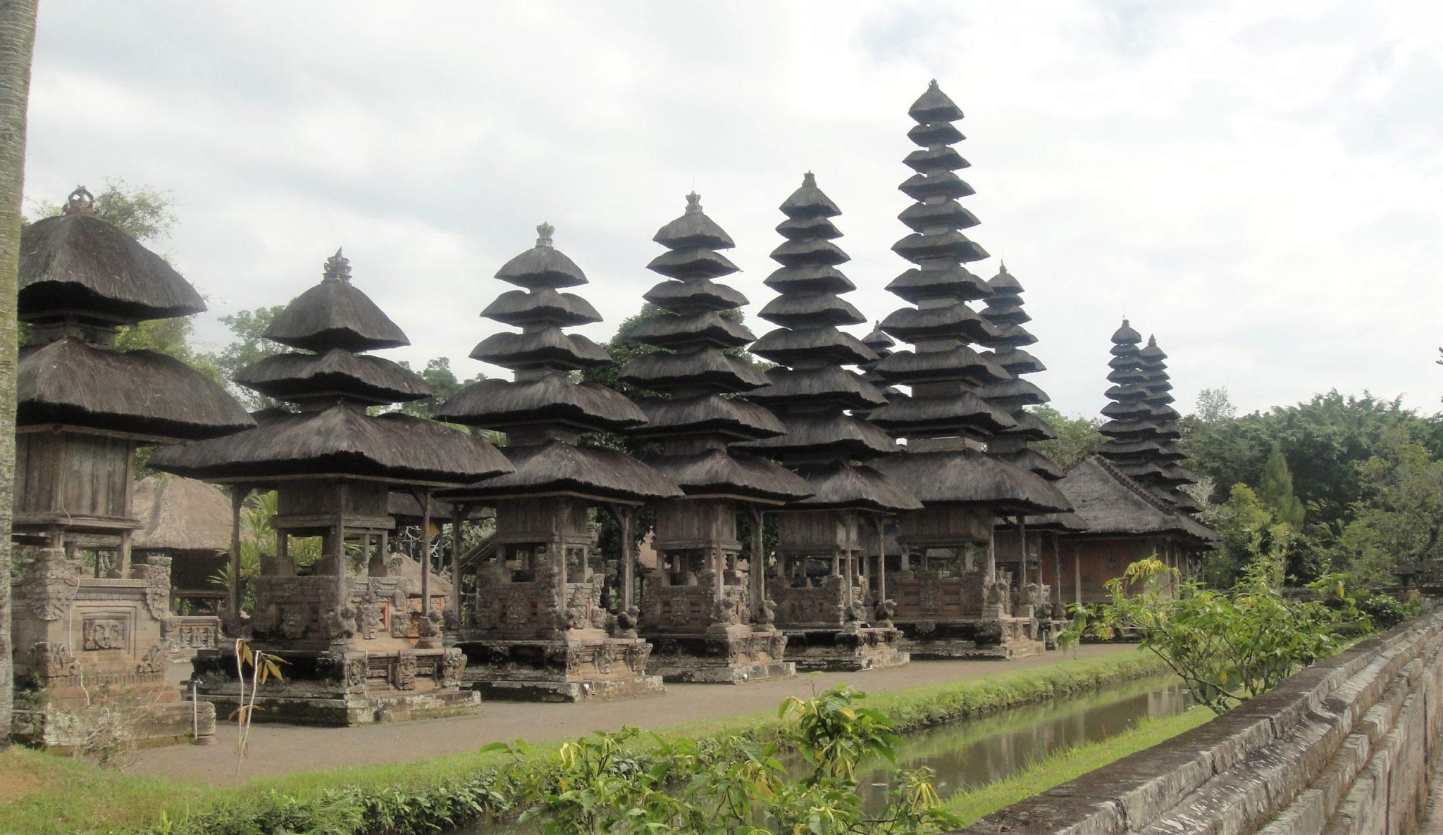 Uno de los rincones del Templo Desha Mengwi